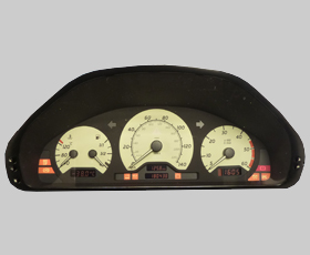 E Class-CLK Instrument Cluster Speedo LCD Pixel Display Repair