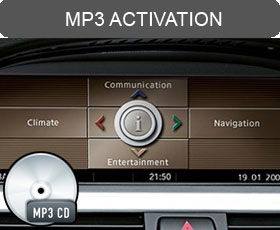 BMW iDrive Professional CCC MP3 CD Activation Upgrade