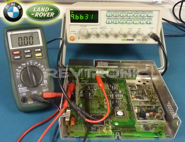 BMW BM54 Becker Repair service for faulty lost audio channels