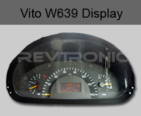 Mercedes Vito and Viano W639 LCD Instrument Cluster Display Repair
