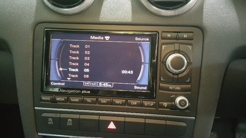 Audi A3 Rns E Set To Bose Sound