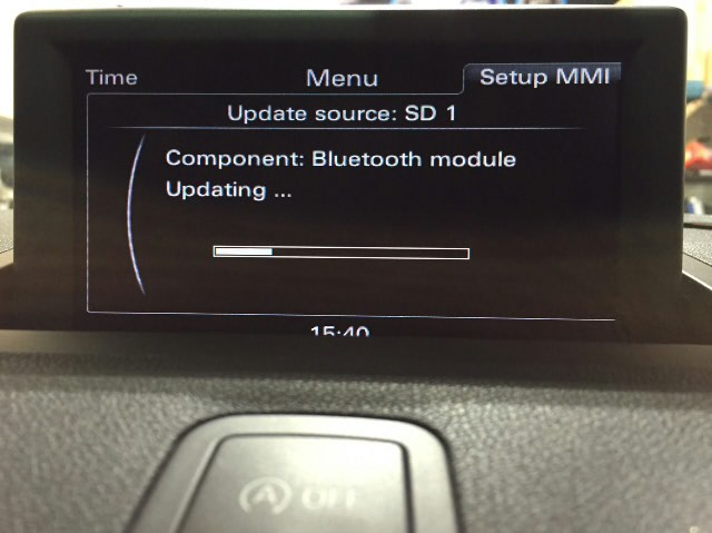 Audi A1 MMI Bluetooth Update
