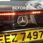Mercedes-E-Class-W211-third-Brake-light-LED-Strip-Faulty