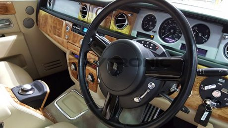 Rolls Royce Phantom Electronic Ride Hide Control