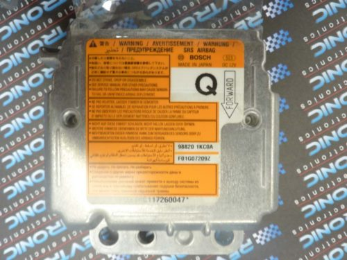 Nissan Juke SRS Airbag ECU 98820 1KC0A - Air Bag ECU Reset Service