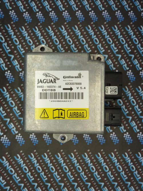 JAGUAR 9W83 14D374 AE Air Bag ECU Reset Service