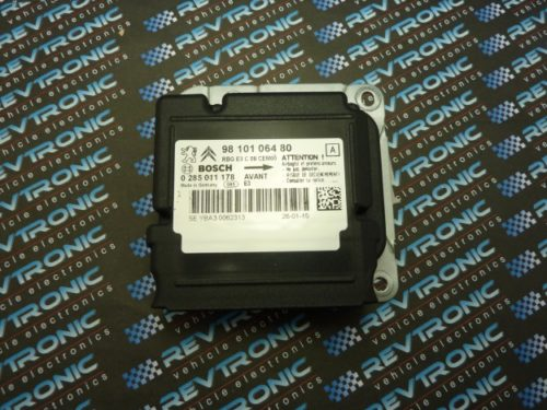 Citroen C4 - BOSCH 98 101 064 80 - 0 285 011 178 - Air Bag ECU Reset Service
