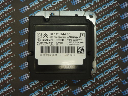 CITROEN C4 CACTUS – BOSCH 9812824480 – 0 285012934 – AIR BAG ECU RESET SERVICE