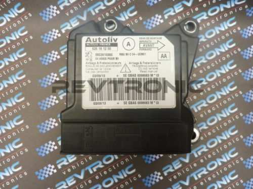 Peugeot Partner - 626 18 12 00 - Air Bag ECU Reset Service