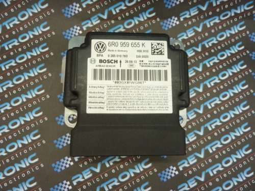 Volkswagen Polo - 95320 6R0 959 655 J Bosch 0 285 010 792 - Air Bag ECU Reset Service (Copy)