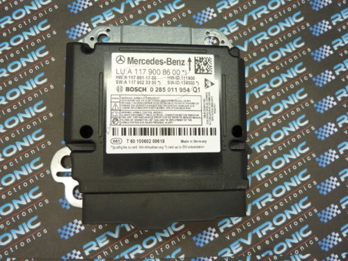 Mercedes Benz A Class W176 2013 - ECU MODULE A117 900 86 00 - Air Bag ECU Reset Service