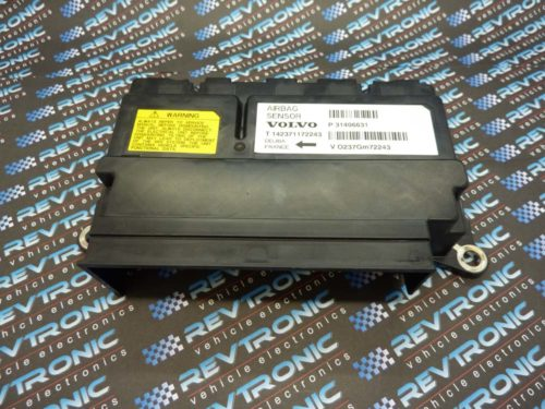 VOLVO V40 P31406631 SRS ECU AIRBAG MODULE CRASH DATA RESET REPAIR SERVICE