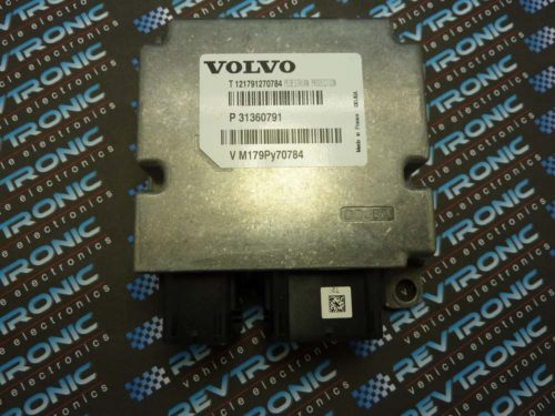 Volvo Pedestrian 2012 – Airbag ECU P31360791 - Air Bag ECU Reset Service