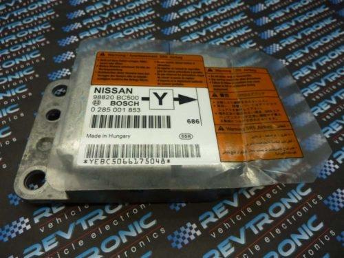 Nissan Micra – 24c08 98820 BC500 Bosch 0 285 001 853 - Air Bag ECU Reset Service