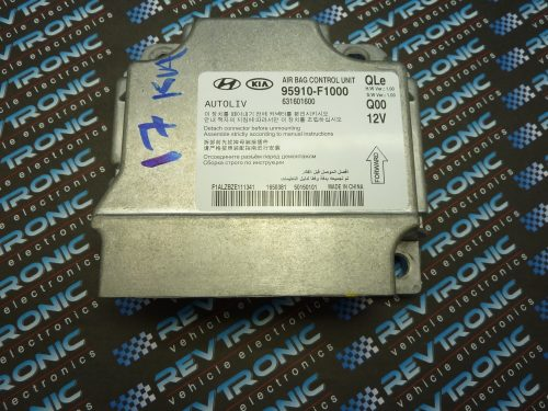 kia/Hyundai -95910F1000-air Bag ECU Reset Service