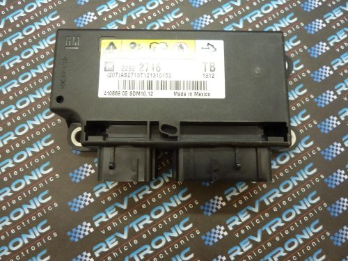 Chevrolet Aveo - 22922716 - air Bag ECU Reset Service