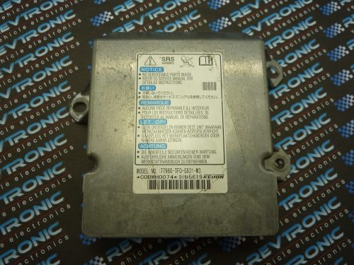 Nissan Juke - 98820 BV80B- air Bag ECU Reset Service