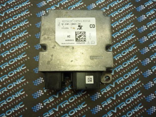 Ford Fiesta Airbag SRS ECU Module C1BT-14B321-CD Crash Data Clear