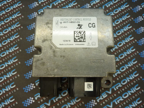 Ford Bmax AV1T-14B321-CG Airbag ECU Module SRS Crash Data Clear