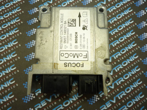 Ford Focus 9M5T 14B321 BA Airbag ECU Module SRS Crash Data Clear