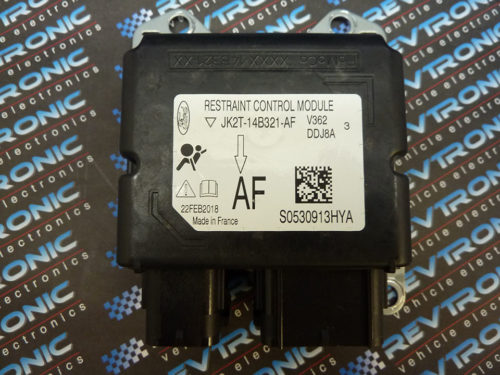 Ford Focus JK2T-14B321-AF Airbag ECU Module SRS Crash Data Reset