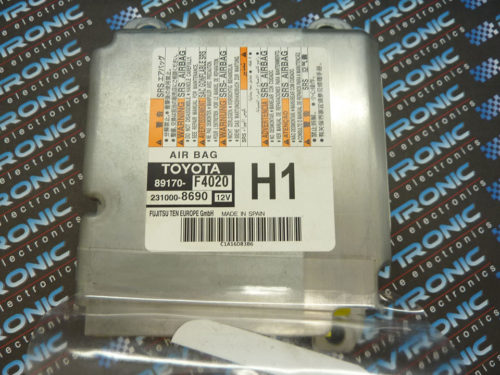 Toyota C-HR 89170-F4020 Airbag ECU Module SRS Crash Data Clear