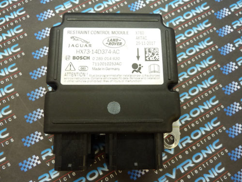 Jaguar F Series Airbag HX73-14D374-AC ECU Control Module SRS Crah Data Clear