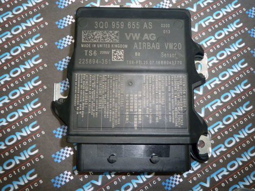VW-Skoda-3Q0-959-655-AS-Airbag-ECU-Control-Module-SRS-Crash-Data-Clear-