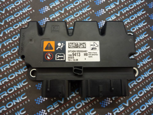 Vauxhall Insignia Astra J 13589413 Airbag ECU Control Module SRS Crash Data Clear