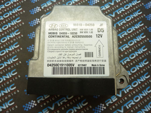 KIA-Optima-95910-D4250-Airbag-ECU-Control-Module-SRS-Crash-Data-Clear