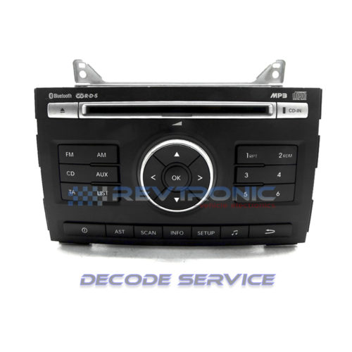 KIA CEED 96160-1H050 BLUETOOTH CD RDS MP3 CD PLAYER DECODE SERVICE