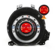 Fiat 500 Instrument Cluster Speedo Repair for Lights Blinking + Center Display Replacement