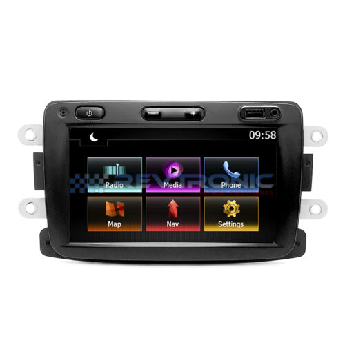 Dacia Logan Media Navigation problem Repair Revtronic