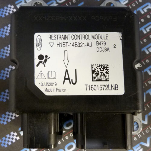 Ford Fiesta H1BT-14B321-AJ Airbag ECU Module SRS Crash Data Reset